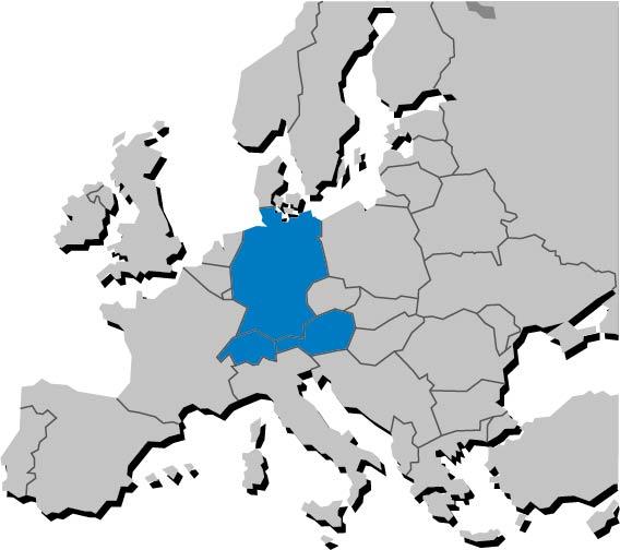 Europakarte-BRD-A-CH